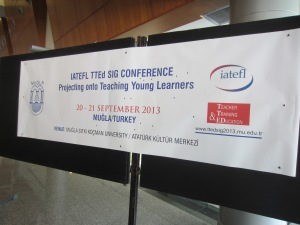 The conference at which our colleagues spoke