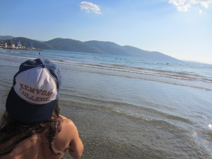 Representing Kenyon on the Aegean shoreline