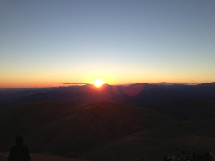 sunset from Nemrut