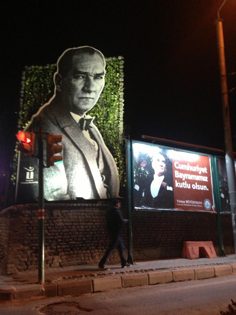 A display in Eskisehir