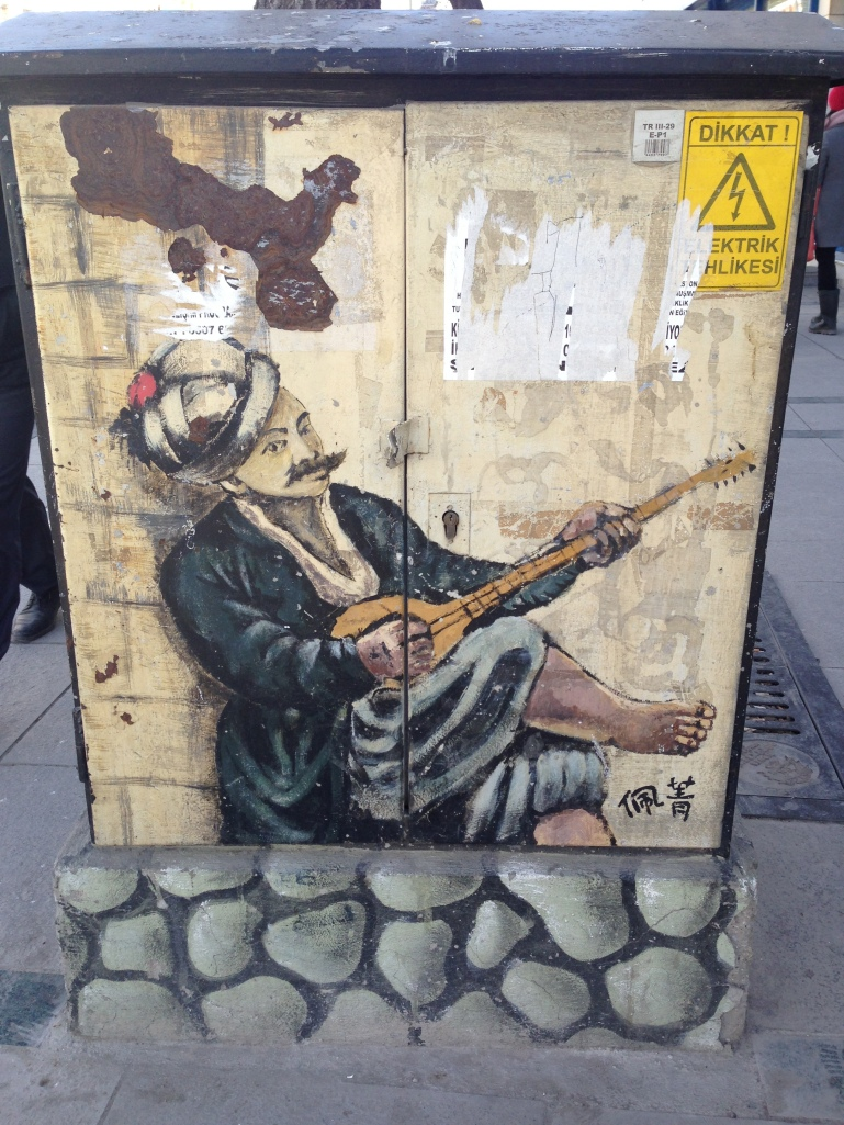 Street Art in Downtown Konya